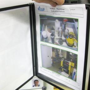 Dokuhalter 5x A4 Mag eco kann mit bis zu 10 Seiten im A4-Format bestückt werden