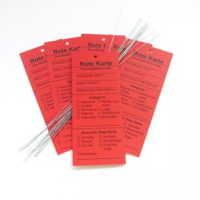 Produktabbildung Rote Karte 5S