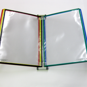 Produktabbildung Dokuhalter 5x A4 Mag robust