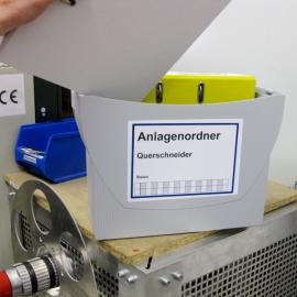 Die Anlagenordner-Box mit Deckeln kann zur Aufbewahrung von Aktenordner im Arbeitsumfeld genutzt werden