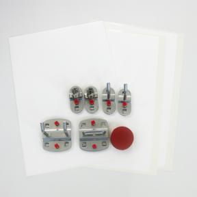 Werkzeughalter Set S mit Etiketten zur Visualisierung bestehender Lochplatten