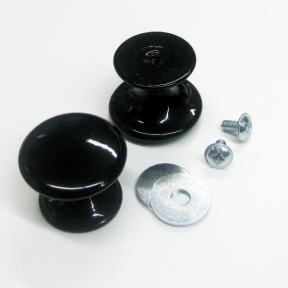 Abnahmehilfe Knopf imSet mit 2 Stück mit passenden Schrauben und Muttern