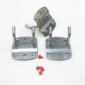 Werkzeugdoppelhaken S50 ist ein stabiler Metallhalter mit zwei Dornen
