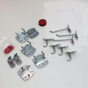 Werkzeughalter Set M ist ein 15 teiliges Set mit Etiketten zur Visualisierung