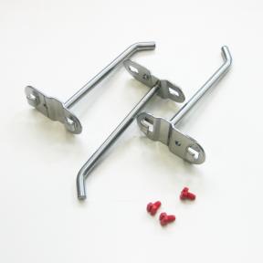 Werkzeughaken S100, 3 Stück aus beschichtetem Metall für einen langlebigen industriellen Einsatz