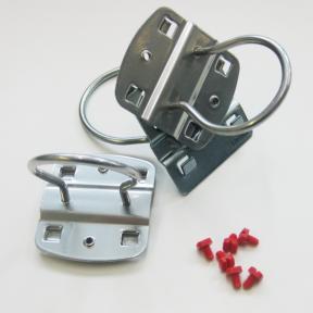 Ringhalter LWS  3 Stück mit Schrauben für Lochplatten