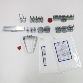 Werkzeughalter Set L ist ein Zubehörset zur Bestückung der passenden Lochplatten