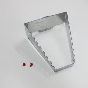 Schraubschlüsselhalter LWS W ist ein robuster Metallhalter für den Einsatz auf dem Lochblech