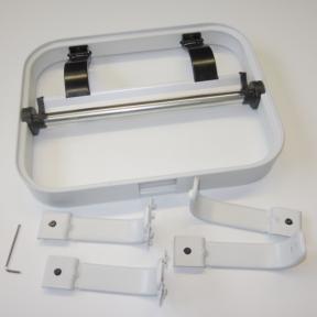 Papierabroller LWS 300 robuste Halterung für Lochplatten