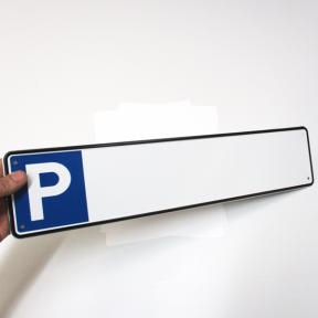 Produktabbildung Stellplatzschild P