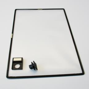 Produktabbildung Infohalter A4 Aluprofil