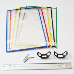 Produktabbildung Dokuhalter 5x A4 Flex