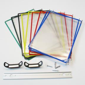 Produktabbildung Dokuhalter 10x A4 Flex