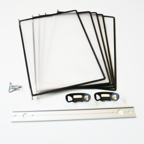 Produktabbildung Dokuhalter 5x A4 Flex Easy
