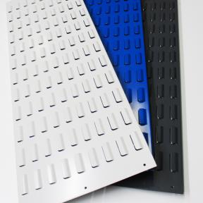 Die Schlitzplatte GM ist in verschiedenen Farben erhältlich