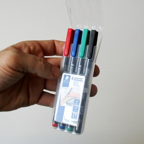 Stifteset Perma Mag in Verpackung