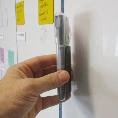 Stifteset Perma Mag mit magnetischer Rückseite zur Befestigung auf Whiteboards