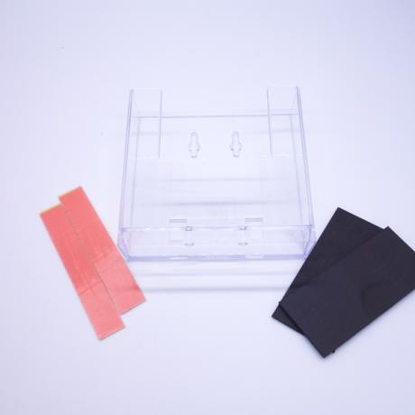 Haftnotizhalter M mit Magnetstreifen und Klebesteifen