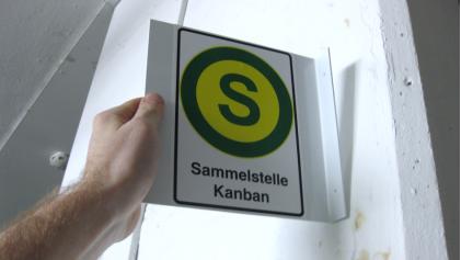 Kanban-Sammelstellen
