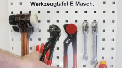 Werkzeugtafeln