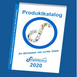 Gesamtkatalog für Lean Produkte von Simplefactory in 2020