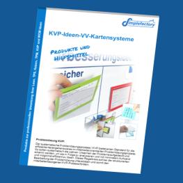 KVP Ideen Vorschlagswesen Produktkatalog im PDF Format - Alles für die praktische Einführung