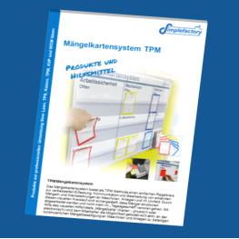 TPM Mängelkartensystem Produktkatalog im PDF Format - Alles für die praktische Einführung eines Mängelkartensystems