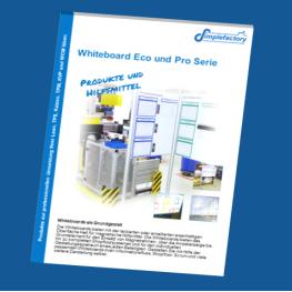 Produktkatalog im PDF-Format für Whiteboards der Serien Eco und Pro