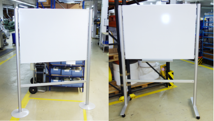 Whiteboards mobil