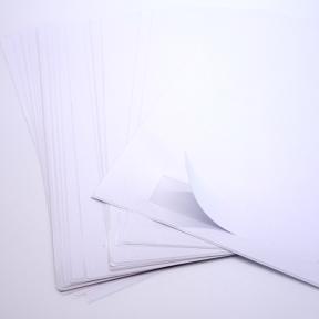Produktabbildung Kanbanbogenetikett 71x25 G
