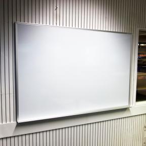 Whiteboard 150 eco mit schutzlackierter Oberfläche