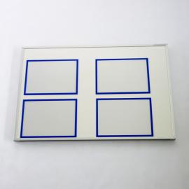 Whiteboard 90 pro mit 4 Dokumentenhaltern