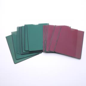 Produktabbildung Steckkartenhülle A7 r-g