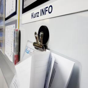 Papierklemme Mag Strong zum Aufhängen von Informationen
