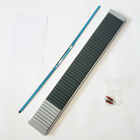 Produktabbildung T-Kartenschiene 90 Pro mit 39 Steckplätzen