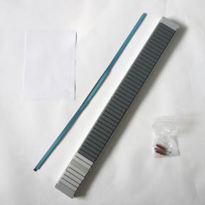 Produktabbildung T-Kartenschiene 60 Pro mit 39 Schlitzen