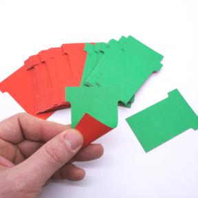 Produktabbildung T-Wende-Karte 60 100 Stück