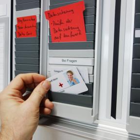 Steckkartenhalter K Pro H für das visuelle Management