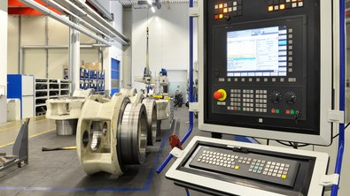 Ein Computer zur Steuerung der Produktion