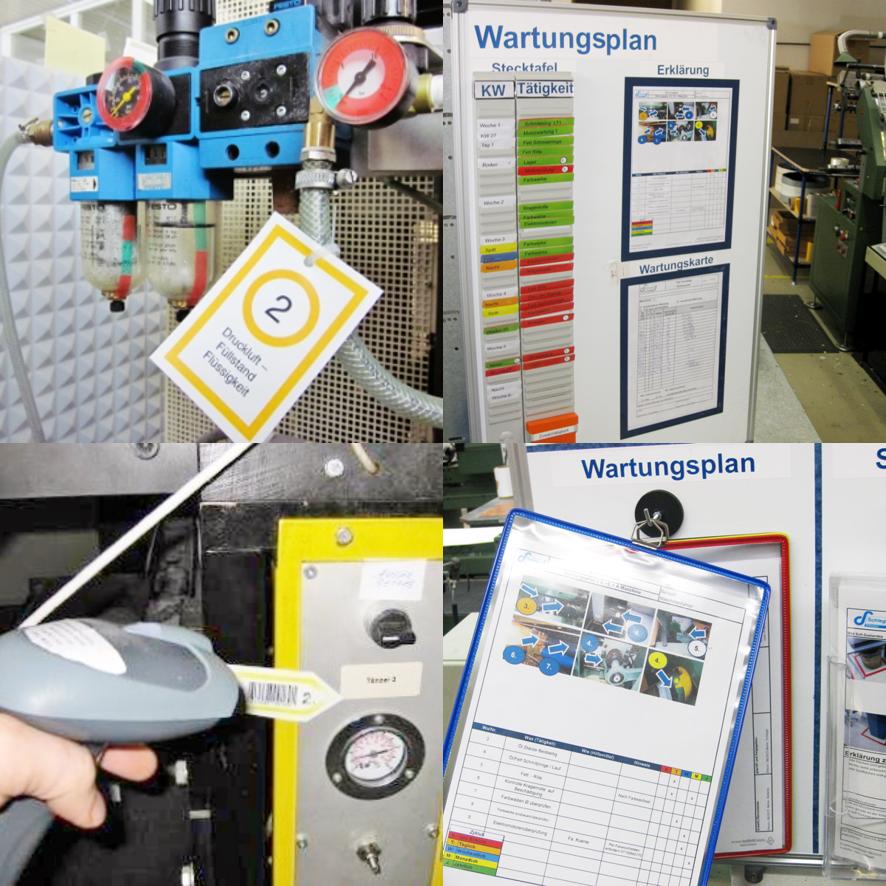 Ausgewählte Produkte die Einführung der TPM Methode an der Anlage