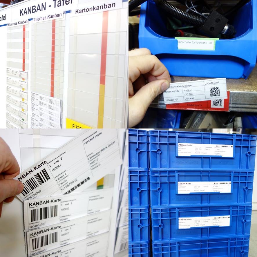 Ausgewählte Produkte für die einfache Einführung von Kanban im Unternehmen